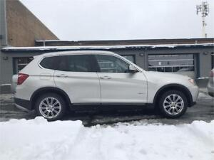 2013 BMW X3 28i-FULL-AUTO-MAGS-CUIR-TOITOUVRANT-AWD