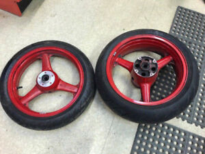 KAWASAKI ZX9-R WHEEL SET