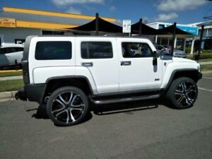 2009 Hummer H3 White 4 Speed Automatic Wagon