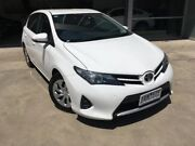 2013 Toyota Corolla ZRE182R Ascent S-CVT White 7 Speed Constant Variable Hatchback Ravenhall Melton Area Preview