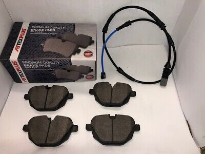 Rear Brake Pads & Sensor Wire For BMW 520 523 525 528 530 535 F10 F11 2010-2017