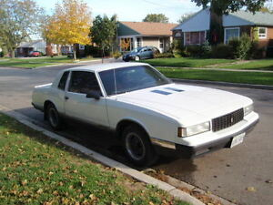 1987 Chevy Monte Carlo Luxury Sport Coupe