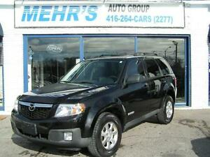 2008 Mazda Tribute 4cyl Auto Loaded Sunrf Great Driving Cond.