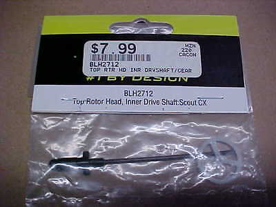 BLADE HELICOPTER PART - BLH2712 = TOP ROTOR HEAD/INNER SHAFT : SCOUT CX (NEW)](Scout Helicopter)