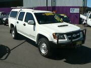 2009 Holden Colorado RC MY10 LX (4x4) White 4 Speed Automatic Crew Cab Pickup Dubbo Dubbo Area Preview