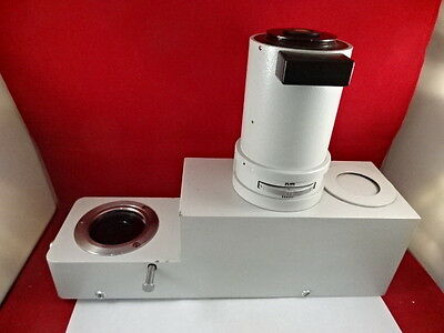 Huge Leitz Wetzlar Germany Vario Head Orthoplan Microscope Optics As Is 36-g-01