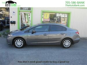 2014 Honda Civic Sedan LX| BAD CREDIT APPROVED!