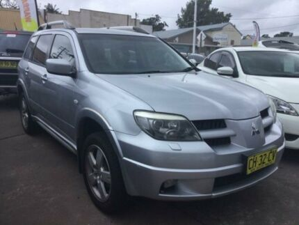 2006 Mitsubishi Outlander ZF VR-X Sports Automatic Wagon
