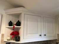 Used Magnet Cream Parisian Style Kitchen Units - Very Good Condition