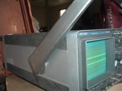 Exlent Phillips Oscilloscope Pm3262 Pm3262q 110v 50w 50-400 Hz 60mhz
