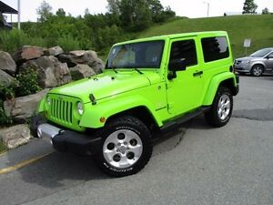 2013 Jeep WRANGLER Sahara (AUTO TRANS, NAVIGATION, HEATED SEATS,