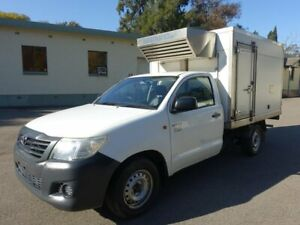 2012 Toyota Hilux Refrigerated White 5 Speed Manual Cab Chassis Homebush West Strathfield Area Preview