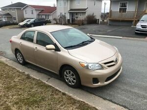 2011 Toyota Corolla CE Sedan