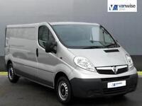 2014 Vauxhall Vivaro 2900 CDTI Diesel silver Manual