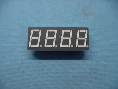 "(2) A-564H-BW 36 PIN COMMON ANODE 7 SEGMENT LED FOUR DIGIT 0.56"" RED DISPLAY"