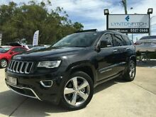 2013 Jeep Grand Cherokee WK MY2014 Overland Black 8 SPEED Semi Auto Wagon Southport Gold Coast City Preview