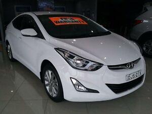2014 Hyundai Elantra MD Series 2 (MD3) Elite White 6 Speed Automatic Sedan Greenacre Bankstown Area Preview