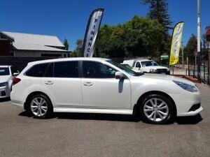 2013 Subaru Liberty MY14 2.5I Pearl White Continuous Variable Wagon