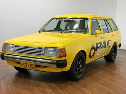 1983 Mazda 323 FA45V Deluxe Yellow 3 Speed Automatic Wagon Kingsgrove Canterbury Area Preview