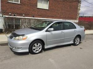 2006 TOYOTA COROLLA S  **- automatic-  122 000KM- IMPECABLE  -**