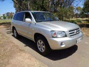 2005 Toyota Kluger Silver Automatic Wagon