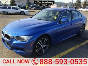 2015 BMW 3 Series XDRIVE M PACKAGE Navigation (GPS),  Leather,