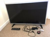 LG Slim HD Ready LED TV, Silver, 32 inch. Great Condition.
