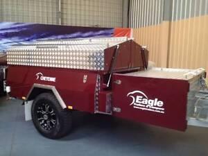 EAGLE HARD FLOOR CHEYENNE CAMPER TRAILER-$1,000 FREE FUEL Para Hills West Salisbury Area Preview