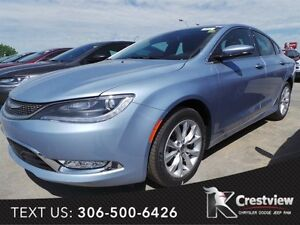 2015 Chrysler 200 C w/ Leather, Sunroof, Navigation