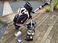 Motocaddy S1 Electric Golf Trolley & Bag