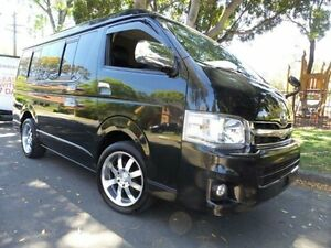 2012 Toyota Hiace Long Wheel Base GL Low Roof Wide Body Black Automatic Wagon Concord Canada Bay Area Preview