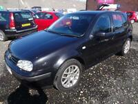 VW VOLKSWAGEN GOLF 1.9 GT TDi 130~03/2003~5 DOOR HATCHBACK~STUNNING MET BLACK