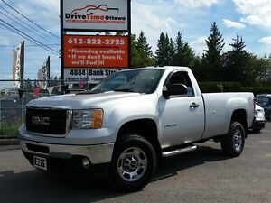 2011 GMC Sierra 2500HD REGULAR CAB 4X4 DURAMAX DIESEL **JUST ARR