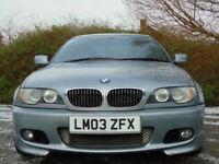 BMW 3 SERIES 3.0 330CI SPORT 2d AUTO 228 BHP (grey) 2003