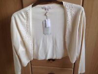 Ladies Jacques Vert Cream Bolero Cardigan