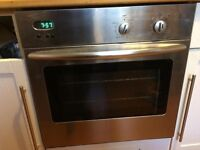 Stainless steel integrated fan oven £50 free Delivery.