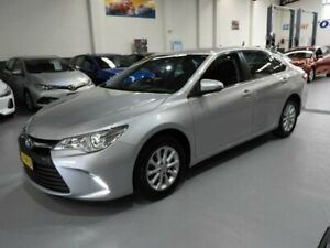 2016 Toyota Camry ASV50R Altise Sedan 4dr Spts Auto 6sp, 2.5i (May) [May] Silver Sports Automatic Pendle Hill Parramatta Area Preview