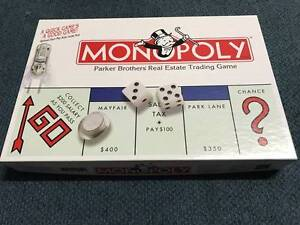 2 Board Games - Monopoly and Junior Monopoly Rossmoyne Canning Area Preview
