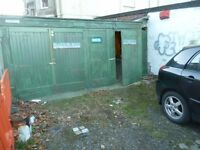 lockup twin garage for rent off Inverleith Row with power + parking