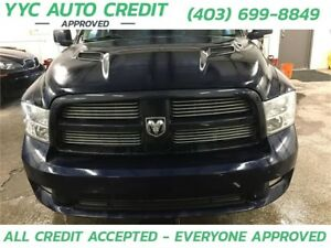 2012 Ram 1500 Sport *$99 DOWN EVERYONE APPROVED*