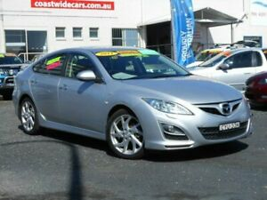 2011 Mazda 6 GH MY11 Luxury Sports Silver 5 Speed Auto Activematic Hatchback Tuggerah Wyong Area Preview