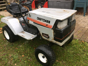 First $100 Takes It! Craftsman Lawn Tractor For Parts or Repair