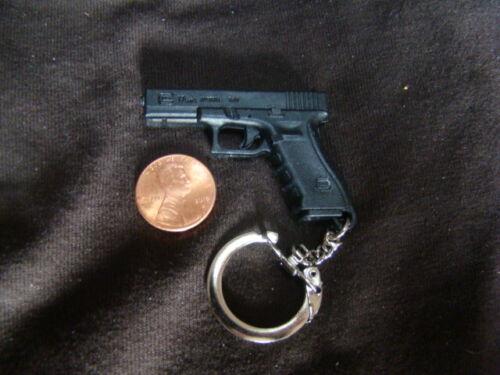 Glock Model 17 9MM Austria Hard Rubber Key Chain Ring
