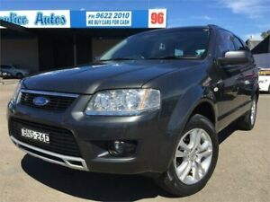 2010 Ford Territory SY MkII TS (RWD) Grey 4 Speed Auto Seq Sportshift Wagon Blacktown Blacktown Area Preview