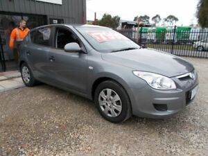 2009 Hyundai i30 FD MY09 SX Grey 4 Speed Automatic Hatchback Bayswater North Maroondah Area Preview