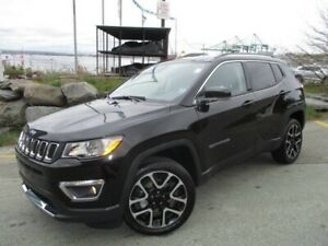 2018 Jeep Compass Limited 4X4 (PANO ROOF, NAV, R/CAM, HEATED LEA