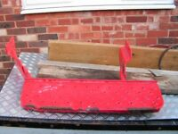 A Ford transit rear door step