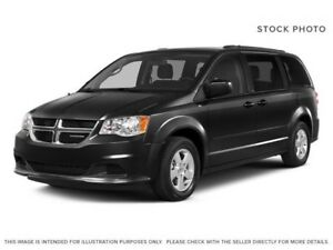 2015 Dodge Grand Caravan SXT Brilliant Black W/ DVD, Stow N' Go