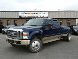 2008 Ford Super Duty F-450 CREW DUALLY 4X4 KING RANCH