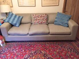 3 seater Habitat sofa bed